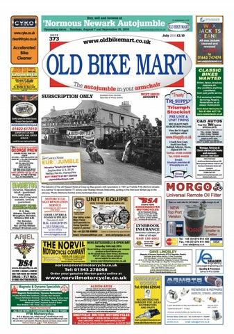 Old Bike Mart July 2016 preview by Mortons Media Group Ltd