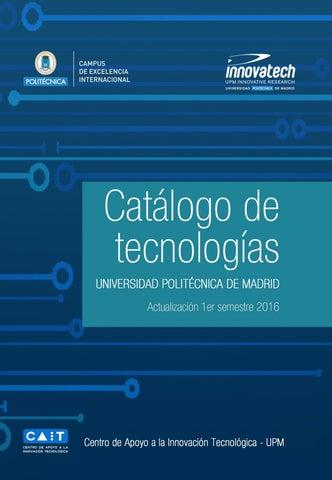 Porfolio de Tecnologías de la UNIVERSIDAD POLITÉCNICA DE MADRID by ... e9dc7a2d2bbc
