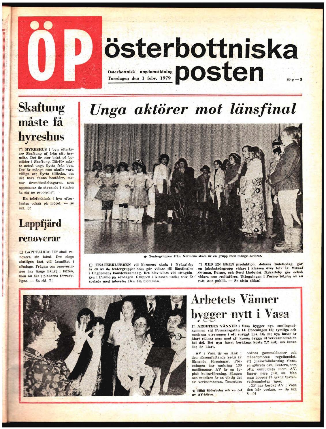 Österbottniska Posten (ÖP) nr. 5 1979 by Österbottniska Posten - issuu 44f98bd3c3a91