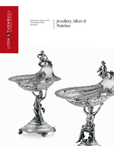 Jewellery Silver 20th July 2016 11am By Lyon Turnbull Issuu