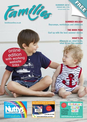 Families London SE July August 2016 issue 178