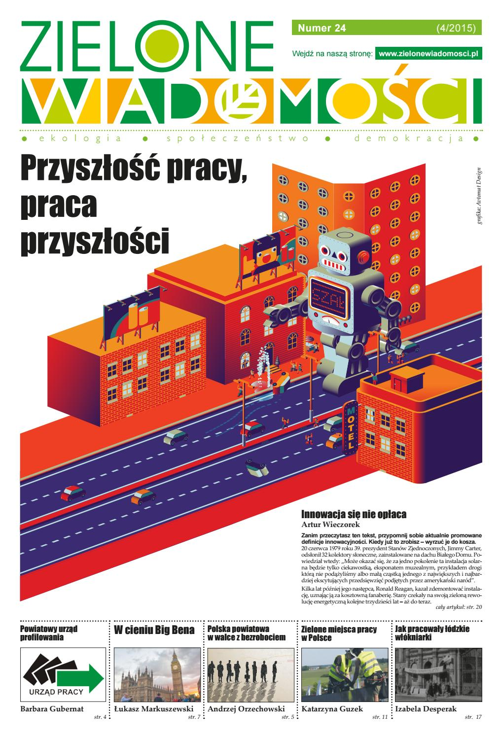 db7cd1fad222bc Zielone Wiadomości o zrównoważonym rynku (pracy) by Fundacja im. Heinricha  Boella - issuu