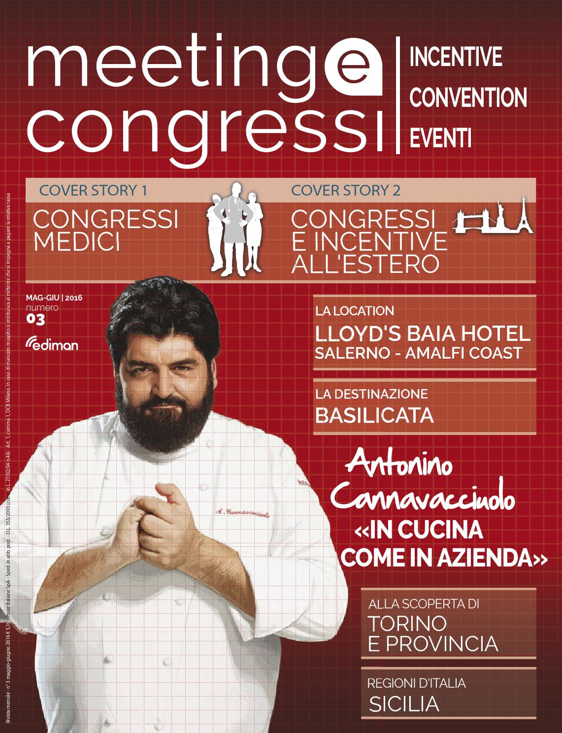 Meeting e Congressi - Mag Giu 2016 by Ediman - issuu 4672b98f938