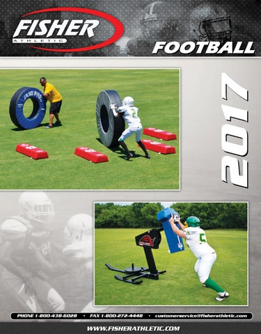f423fdbe7 2017 Fisher Athletic Football Catalog by Fisher Athletic - issuu