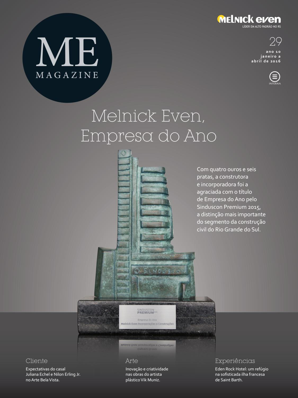 29cd84a28 ME Magazine | 29ª edição by Melnick Even Magazine - issuu