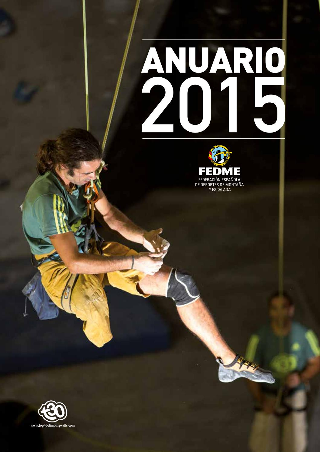 Anuario 2015 by FEDME - issuu