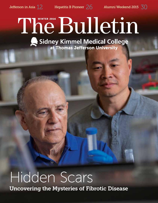 The Bulletin :: Thomas Jefferson University Winter 2016 by