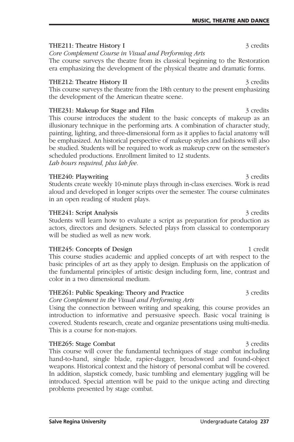 Salve Regina University Undergraduate Catalog 2013-2014 by