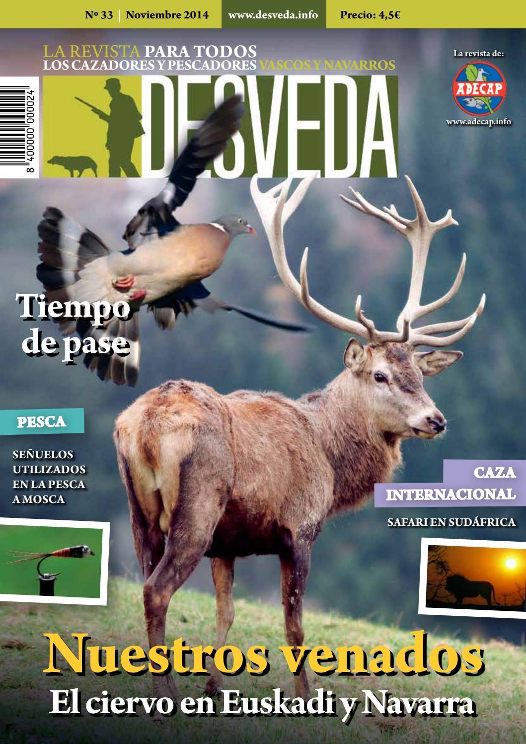 Desveda nº 33 noviembre 2014 by Revista DESVEDA impresa - issuu