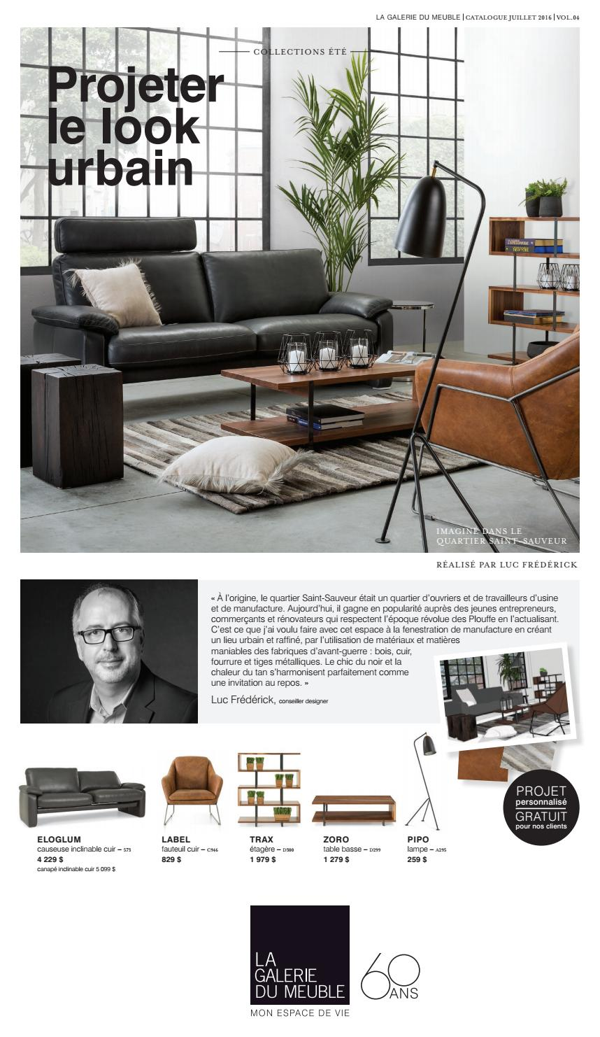 la galerie du meuble catalogue vol 4 by la galerie du meuble issuu. Black Bedroom Furniture Sets. Home Design Ideas