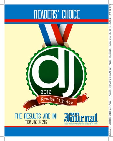 Readers Choice  by Journal Inc - issuu