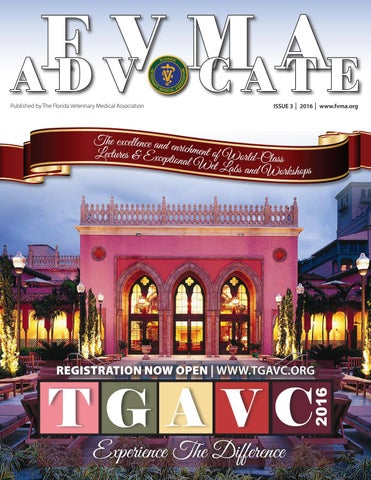 2016 Advocate Issue 3 by FVMA - issuu