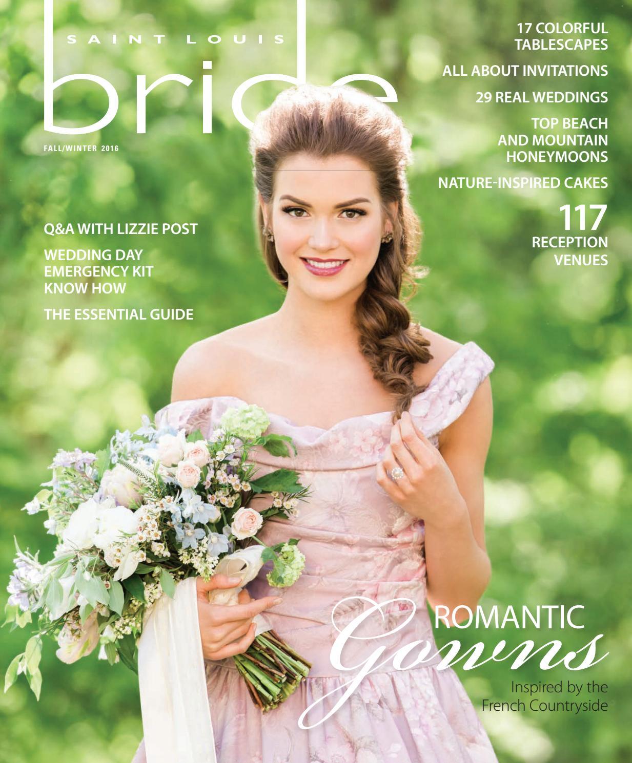 St. Louis Bride Fall-Winter 2016 by Morris Media Network - issuu