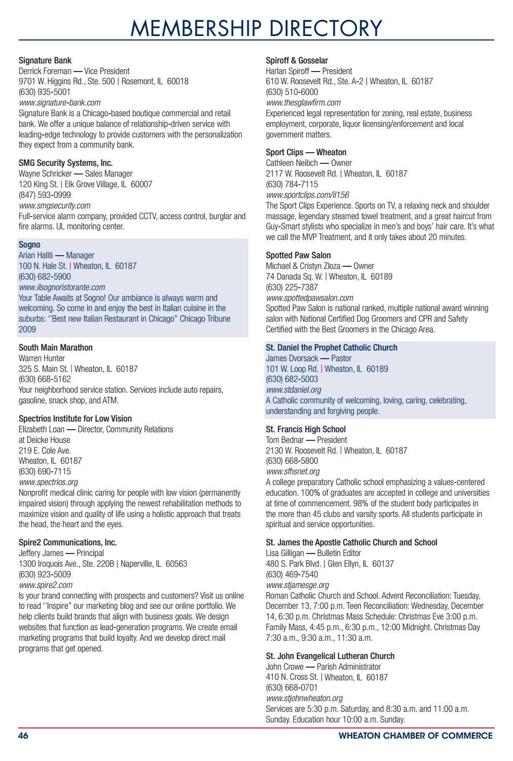 Wheaton Il Chamber Profile By Town Square Publications Llc Issuu