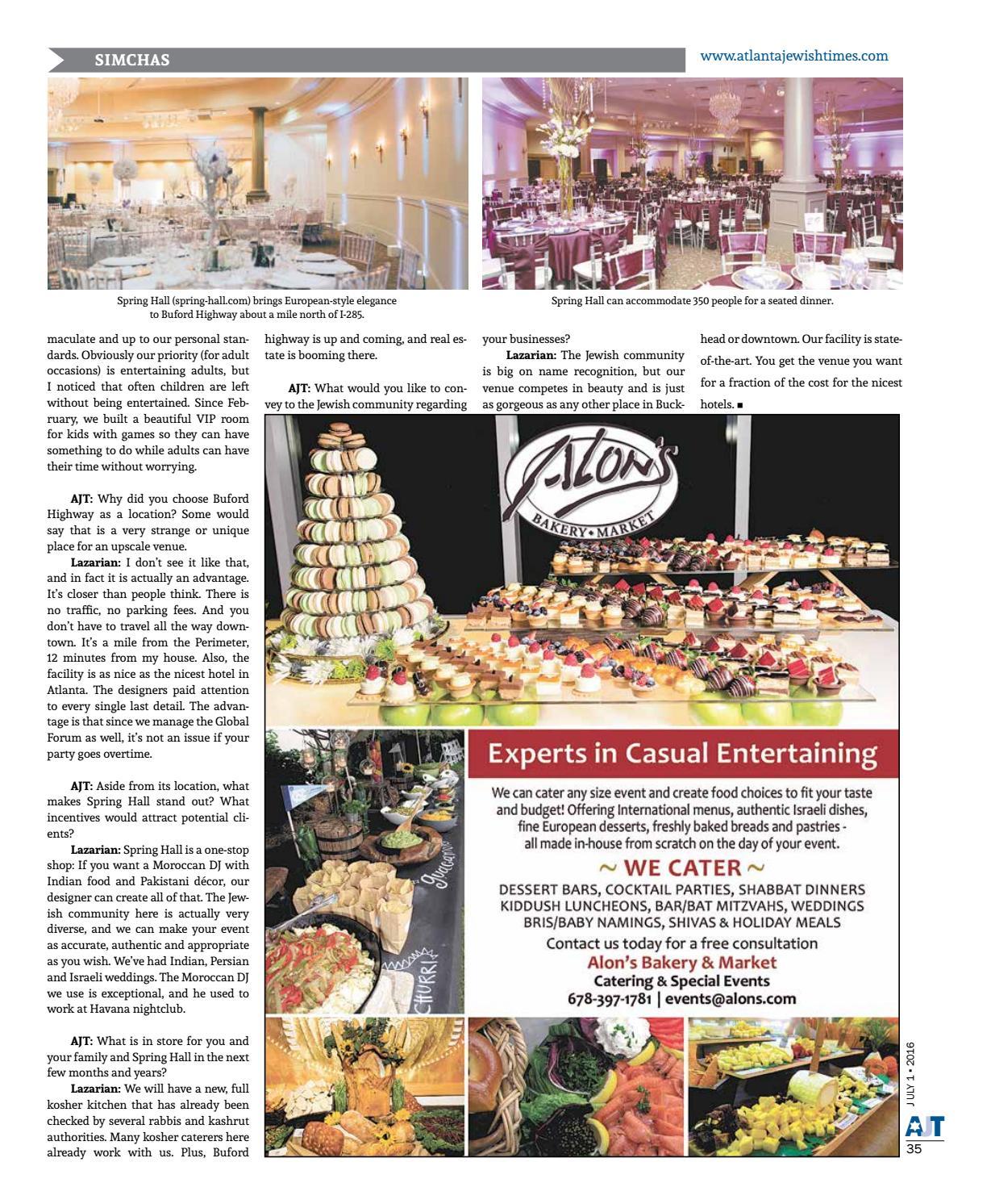 Awesome Atlanta Jewish Times Vol Xci No 26 July 1 2016 By Download Free Architecture Designs Momecebritishbridgeorg