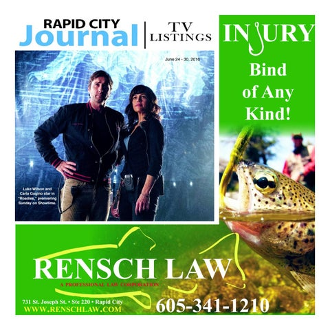 Rapid City Journal Tv Guide By Ernie Wood Issuu