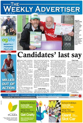 4522f342cac The Weekly Advertiser - Wednesday