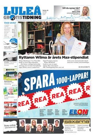 promo code 0c6e3 f5644 Luleå Gratistidning med Team Sportia bilaga by Svenska ...
