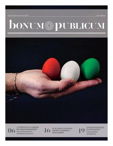 Bonum Publicum 2016. március by Bonum Publicum - issuu ed944a7ea3