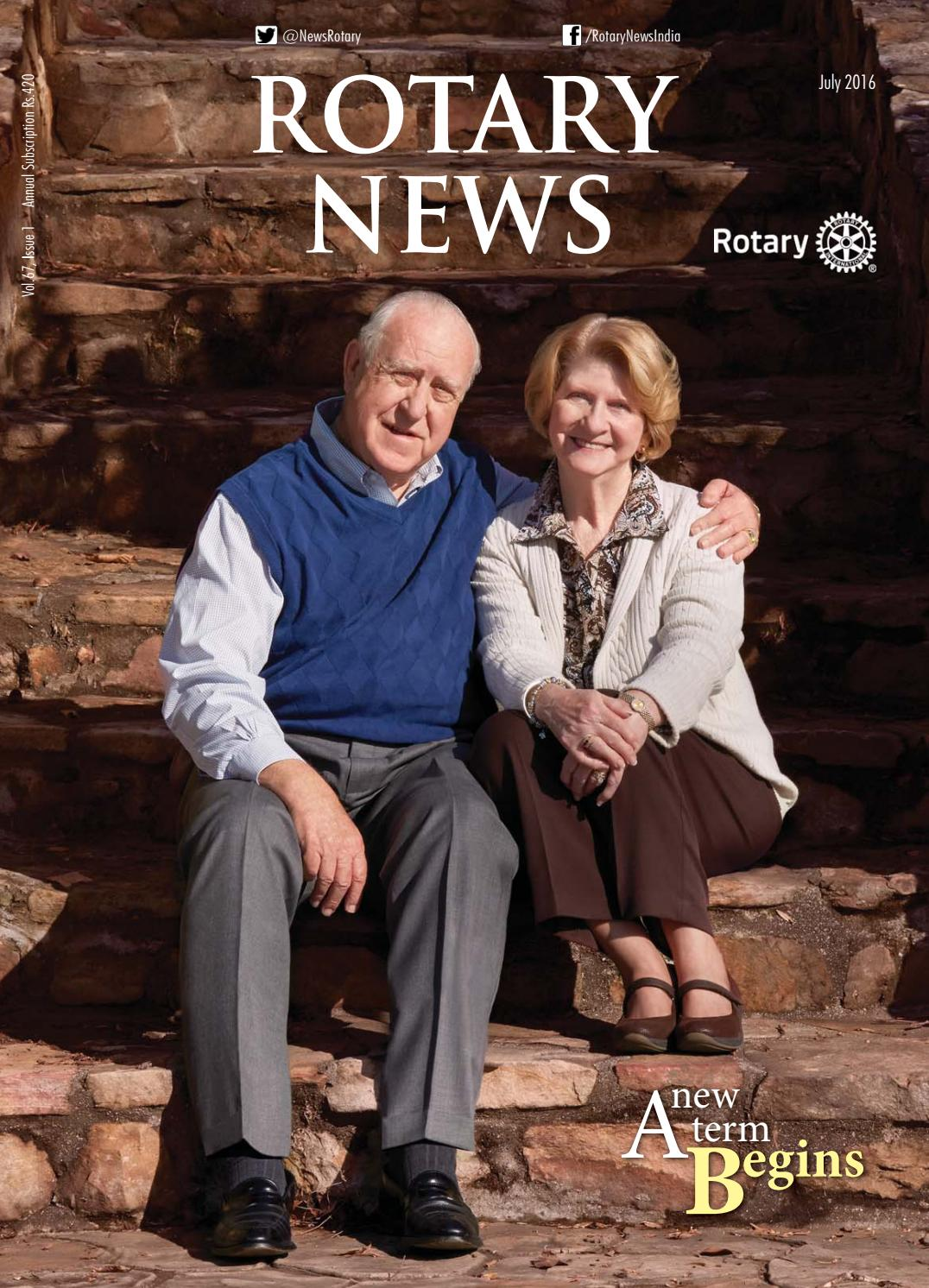 Rotary News - July 2016 by Rotary News - issuu