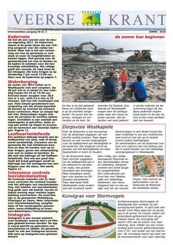 f54c9c1b0dc3 Veerse krant zomer 2016 by Gemeente Veere - issuu