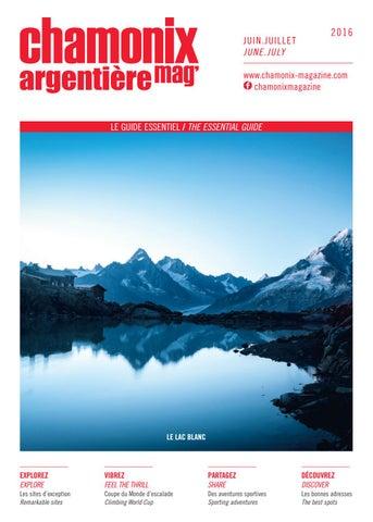 Chamonix Magazine   Juin-Juillet 2016 by Édimontagne - issuu c2566d19a17