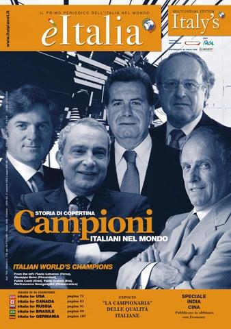 èitalia 47 – Il Primo Periodico dell Italia nel Mondo by èItalia - issuu 70380153a20