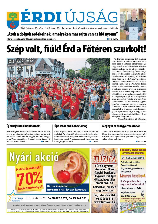 Érdi Újság - 2016. 06. 29. by Maraton Lapcsoport Kft. - issuu 473bec20f2