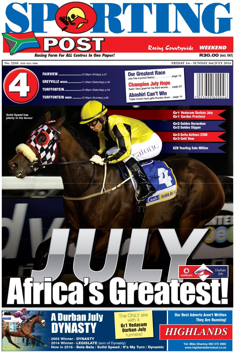 59367a9b362 1-3 July  2265 Sporting Post by Sporting Post - issuu