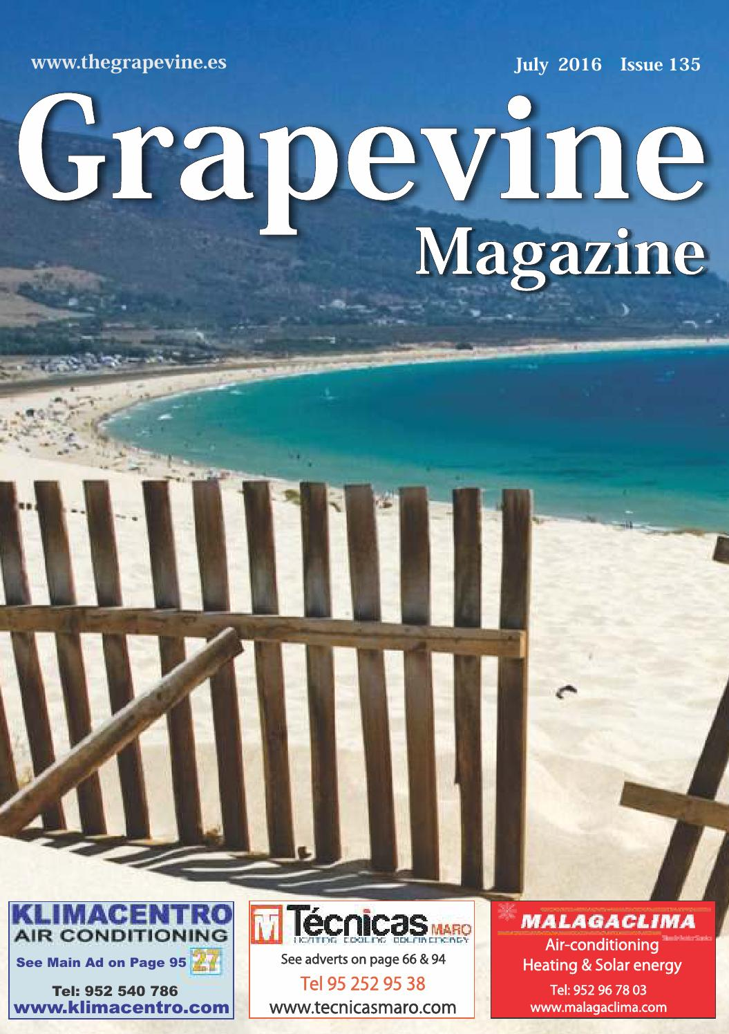 The Grapevine Magazine July 2016 By The Grapevine Magazine