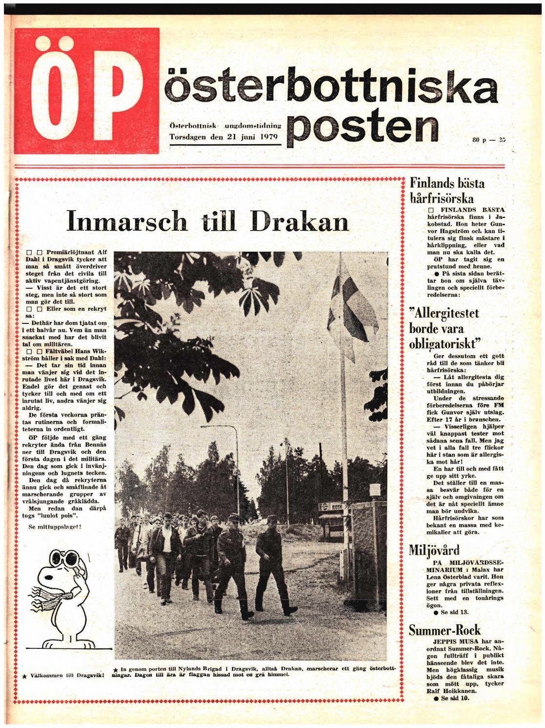 Österbottniska Posten (ÖP) nr. 25 1979 by Österbottniska Posten - issuu 363f6b6825098