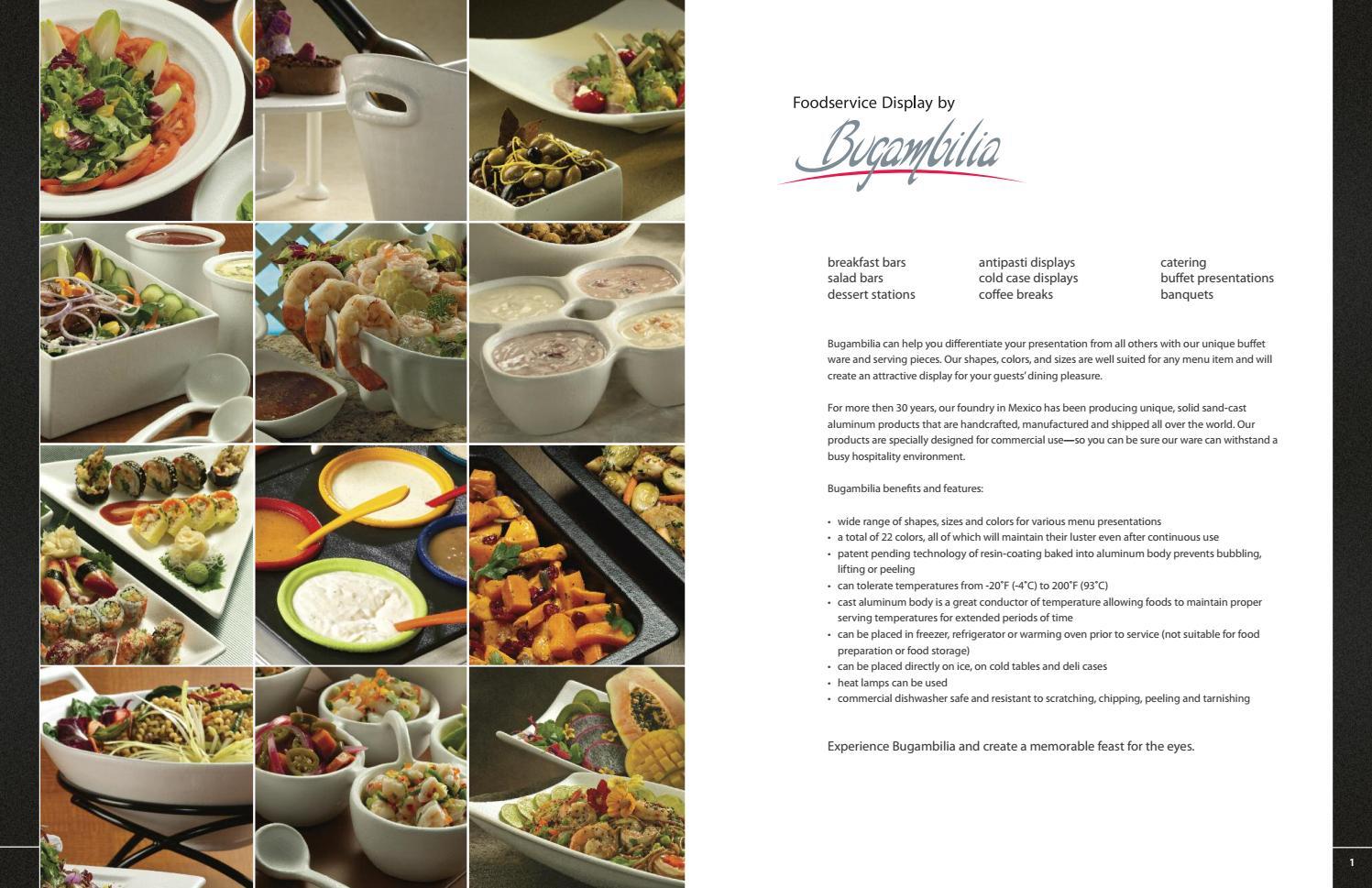 Varios Buffet Bugambilia By Servitel Issuu