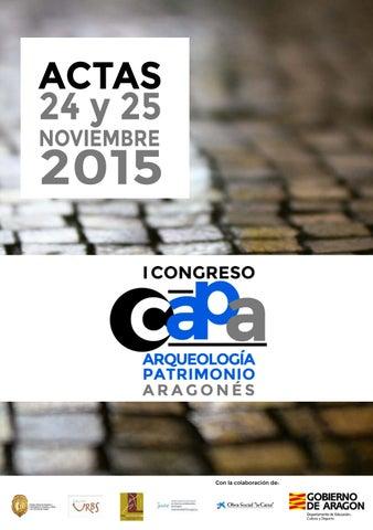 Actas I CAPA. Sesión 5. Patrimonio, Gestión y Divulgación by CDL ... 11ea747ee7