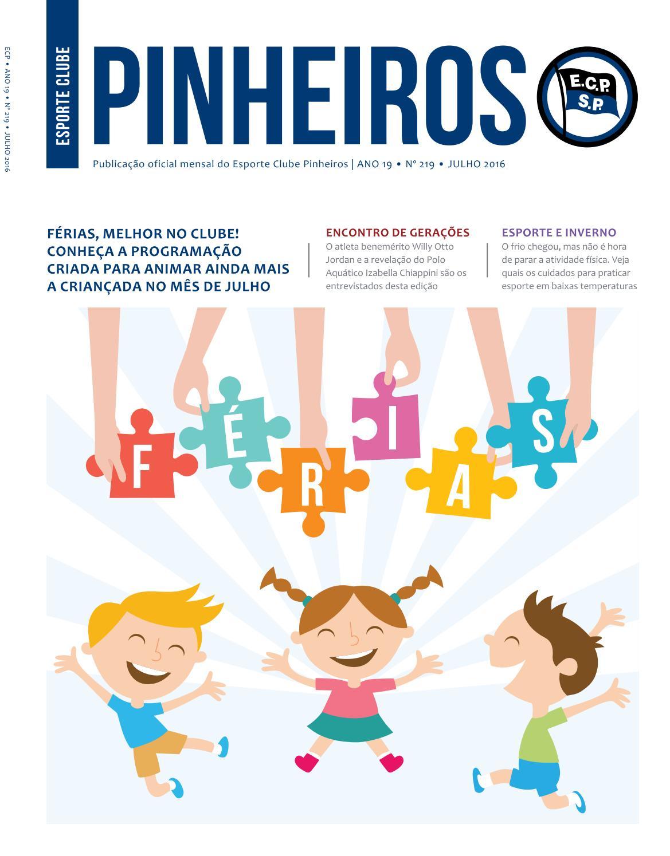 Revista n° 219- Julho 2016 by Esporte Clube Pinheiros - issuu 5ff4b6d60e958