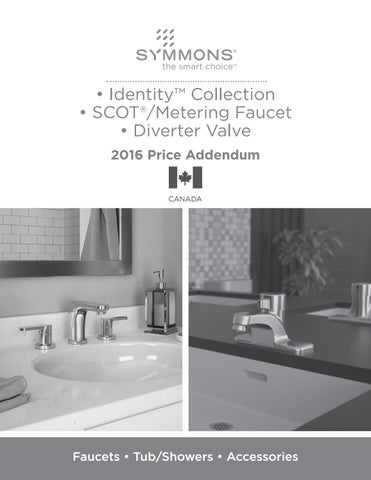 Symmons 6704-1.5-TRM Identity 1-Handle Tub and Shower Faucet Trim Kit Chrome Valve Not Included