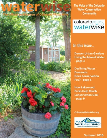 decline an interview offer colorado waterwise summer 20166 by greeley water issuu 20166 | page 1 thumb large
