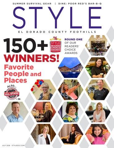 Style El Dorado County Foothills Jul 2016 By Style Media Group Issuu
