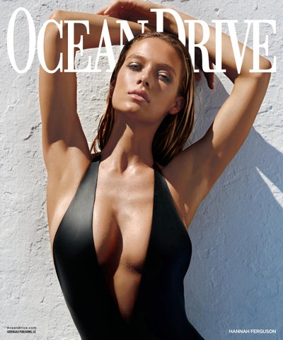 5e119f2e77754 Ocean Drive - 2016 - Issue 6 - July/August - Hannah Ferguson by ...