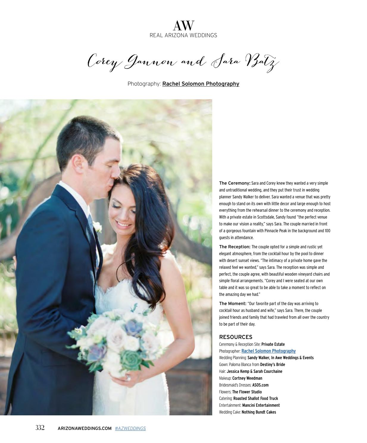 Arizona Weddings Magazine June July 2016 By Arizona Weddings Magazine Website Issuu
