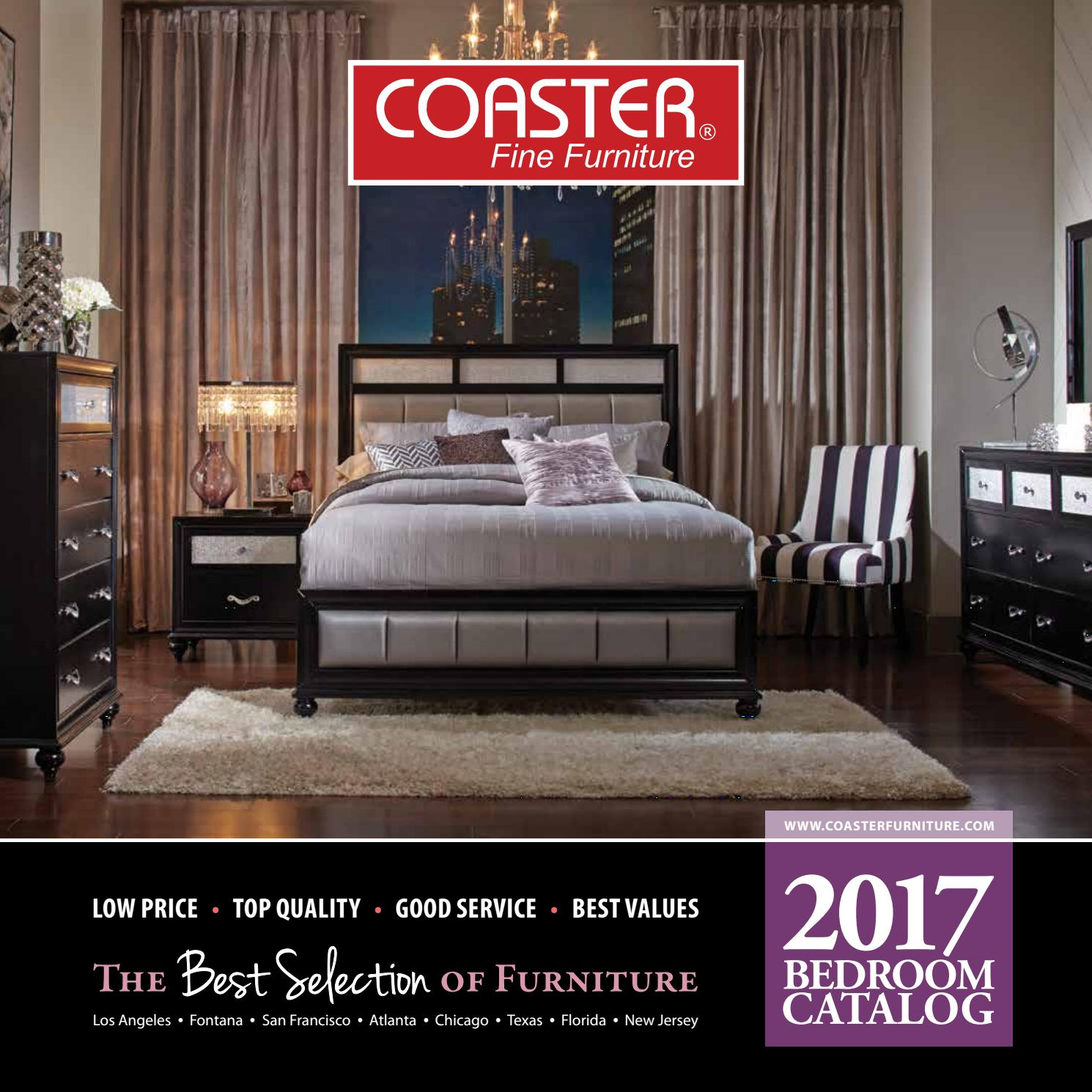Furniture Stores Catalogs: 2017 Coaster Bedroom Catalog By Seaboard Bedding And