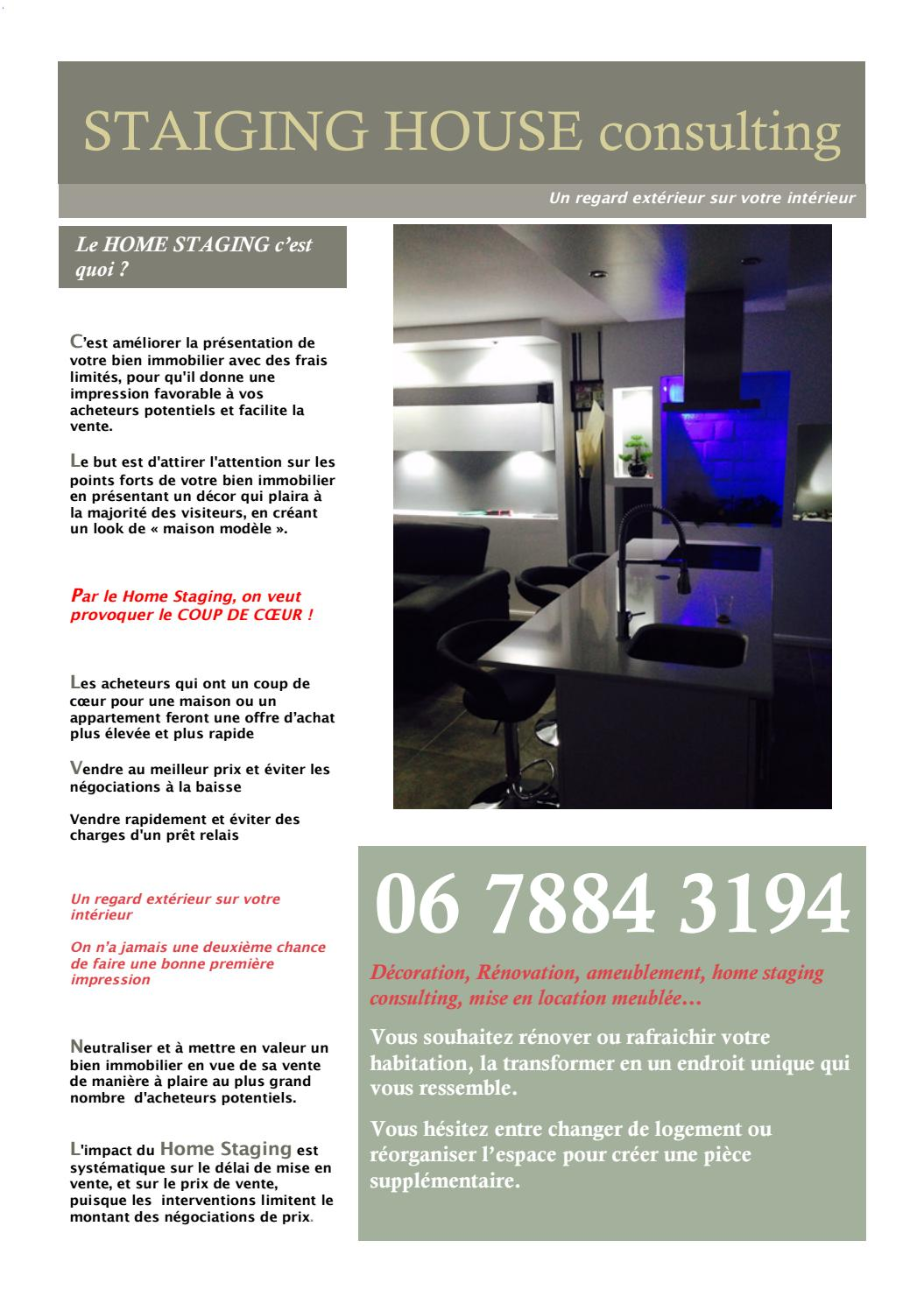 Exemple Devis Home Staging staging house consultingstaiging house consulting - issuu