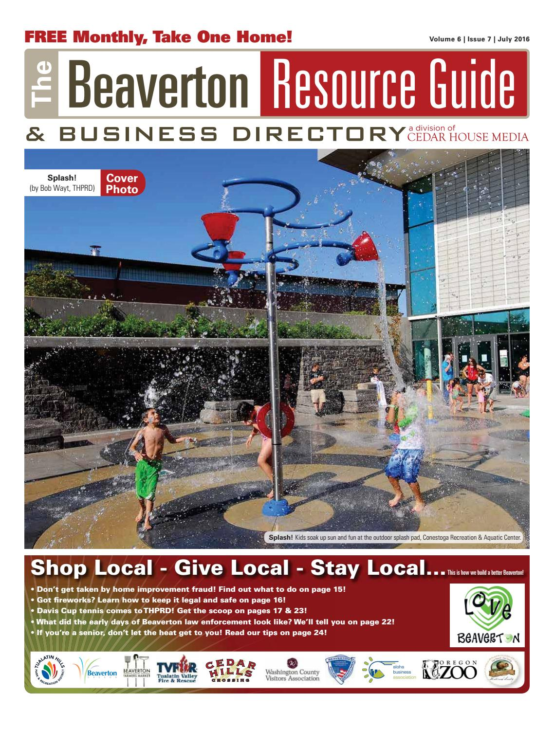 Brg July 2016 By Beaverton Resource Guide Issuu Full Body Workouts On Pinterest Melissa Bender Circuit And