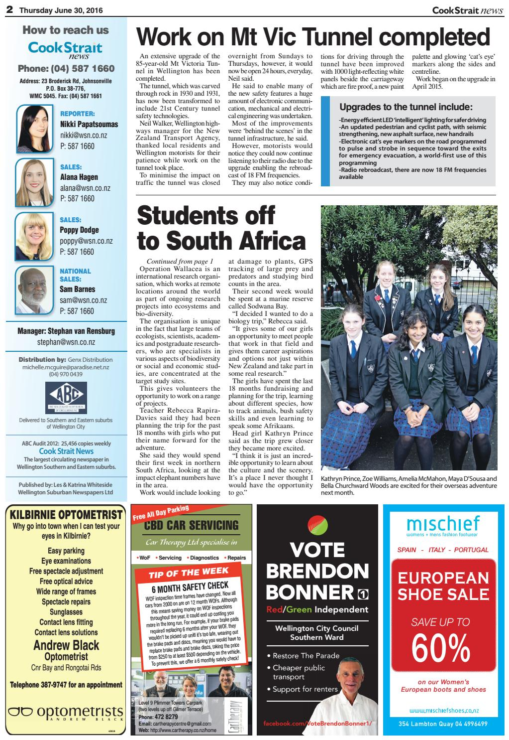Cook Strait News 30-06-16 by Local Newspapers - issuu
