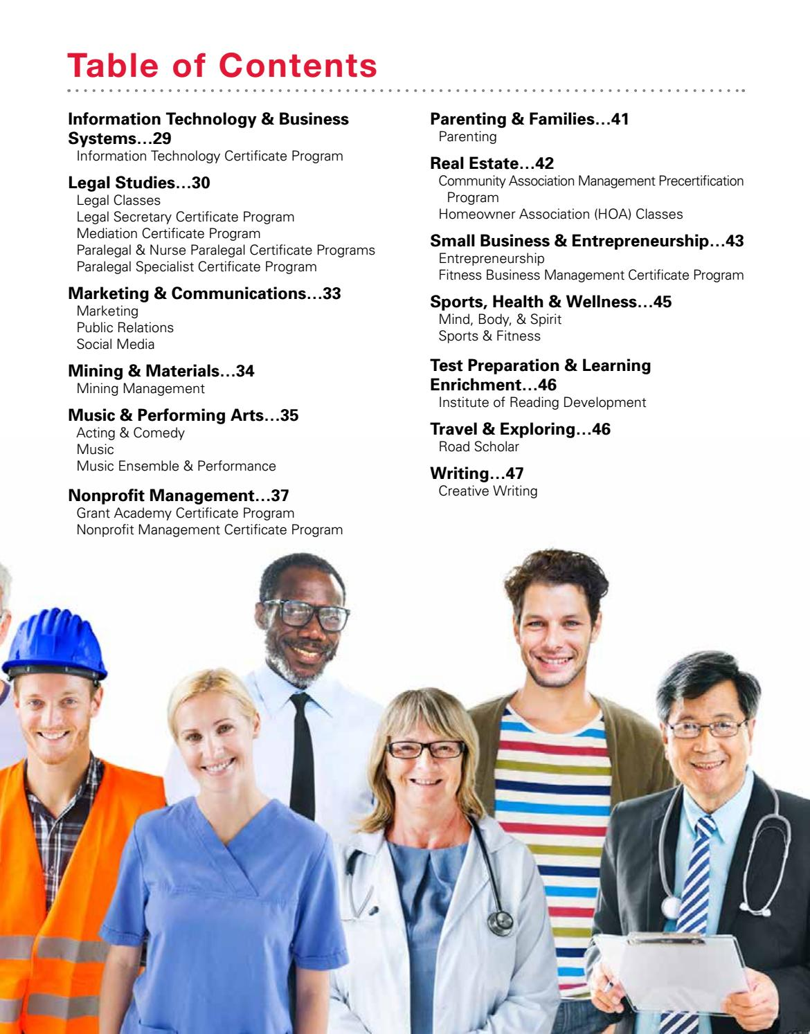 Fall 2016 Unlv Continuing Education Catalog By Unlv Division Of