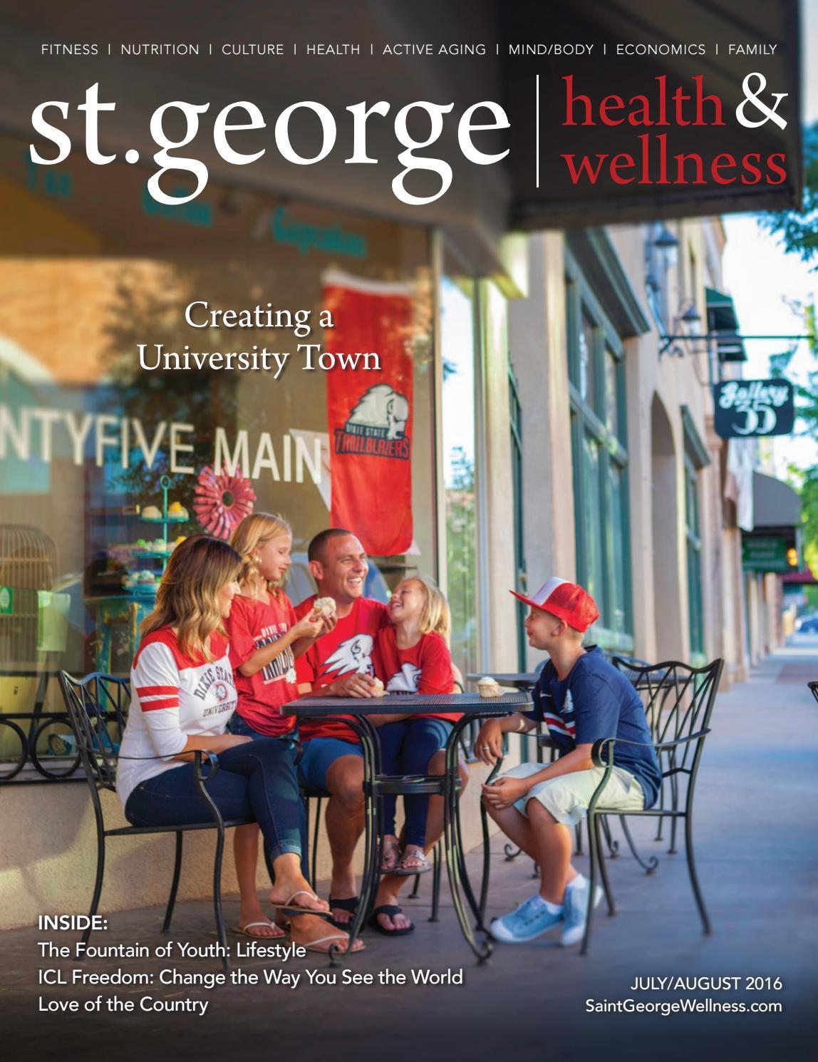 St George Health Wellness July August 2016 By Ibuildmagazines  # Muebles Dixie Merida