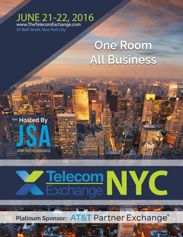 Telecom Exchange NYC 2016 Directory by Jaymie Scotto