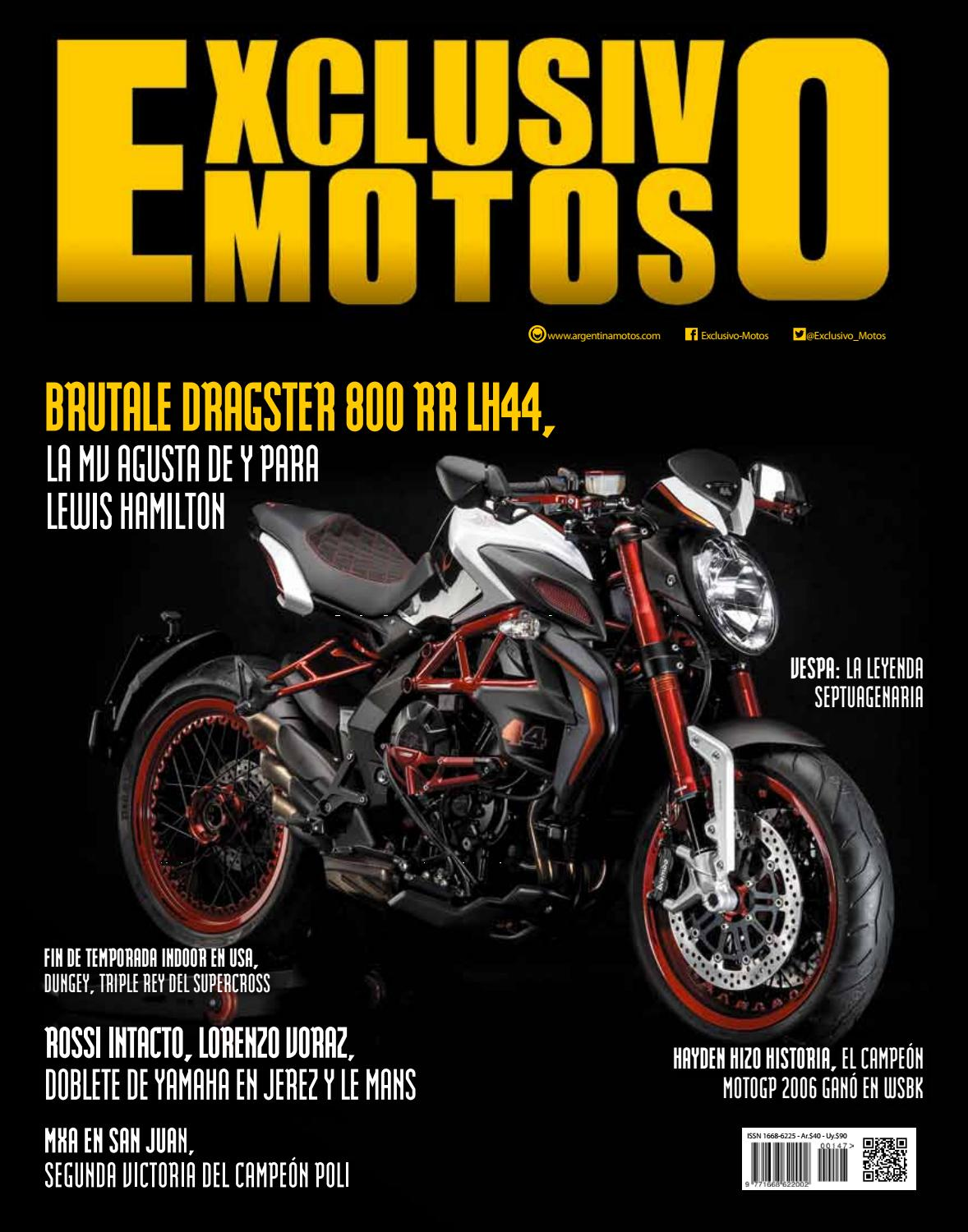 EXM 147 - Junio 2016 by Exclusivo Motos - issuu