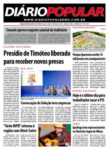 30 06 2016 by Jornal Diário Popular - issuu c3c52cdffff65