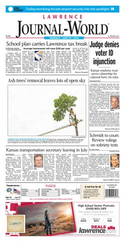 89133ea20c Lawrence Journal-World 06-30-2016 by Lawrence Journal-World - issuu