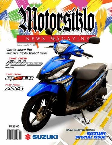 Volume 1 Issue 7 by Motorsiklo News Magazine - issuu
